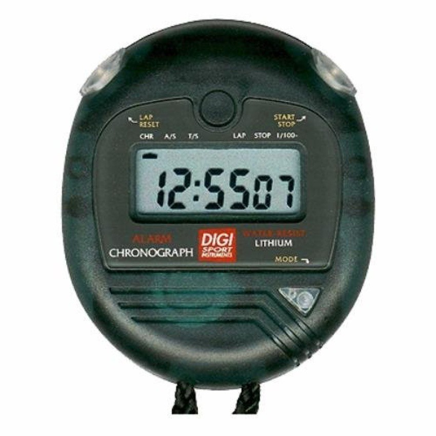 DIGI DT2N Chronograph with lap time display 6-digit