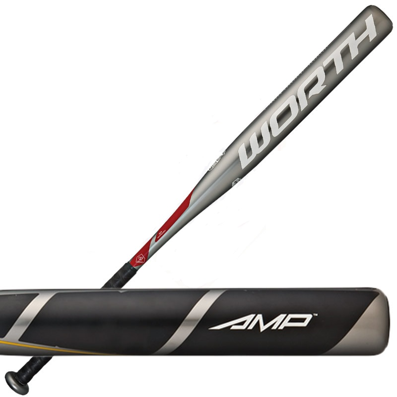 WORTH SBA5UA Amp Slow Pitch 34/26.5oz Softball Bat