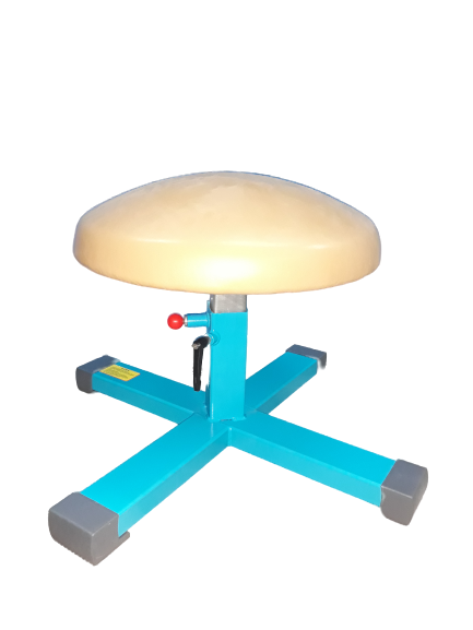 MUSHROOM Trainer Adjustable Iron Legs Blue 20-26