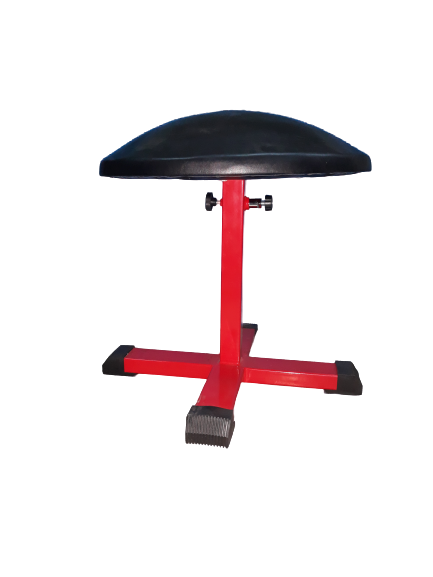 Mushroom Adjustable 50cm - 75cm Red Steel Base