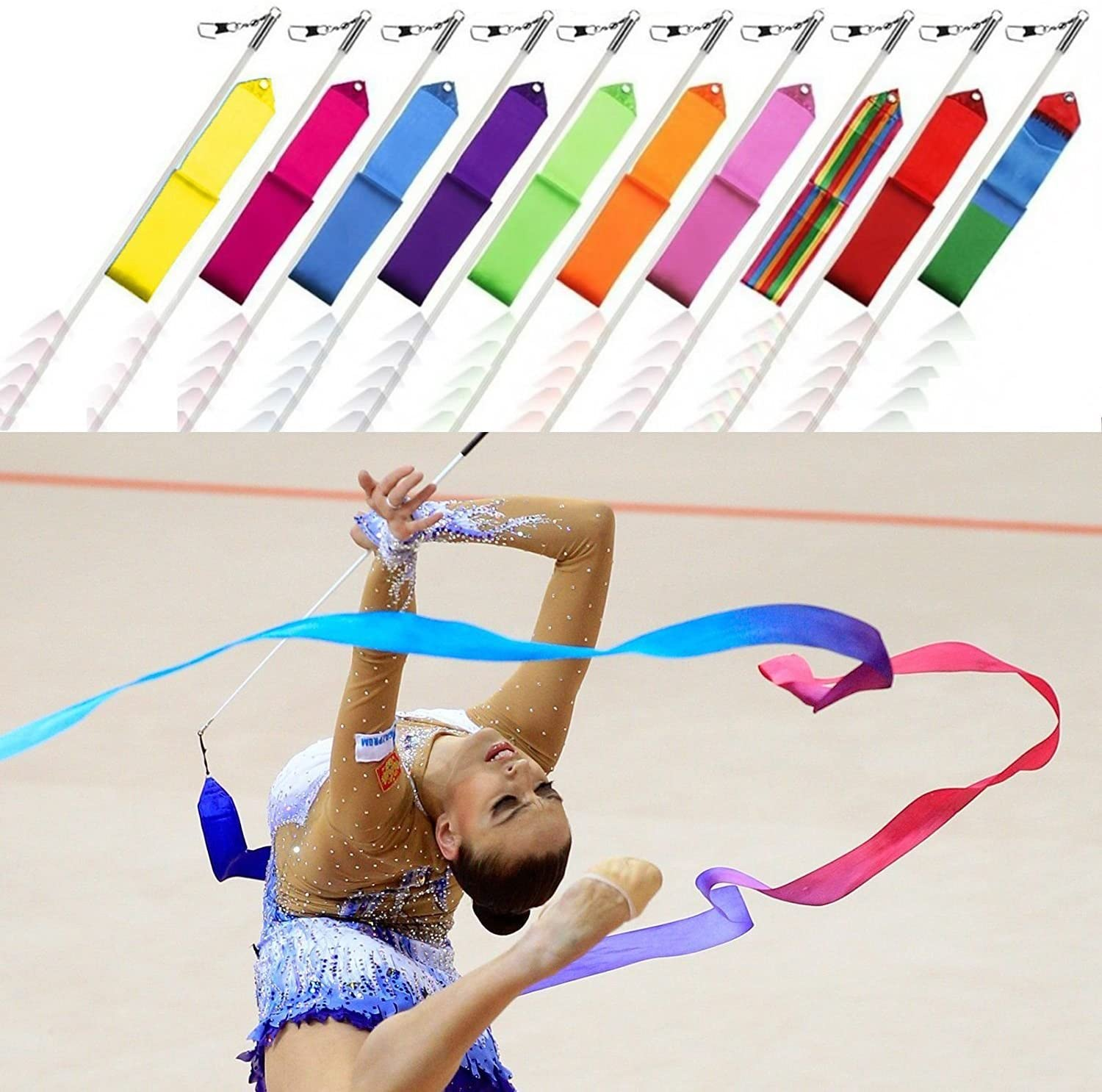Gymnastic Ribbon with Stick