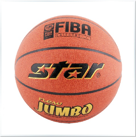 New Jumbo BB417 Basketball Ball