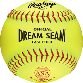 Rawlings C12RYSA Dream Seam Softball ASA