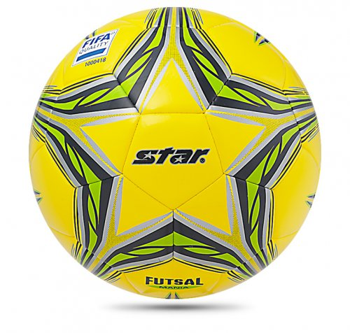 STAR FUTSAL MANIA FIFA Ball Appr Yellow Green Size 4