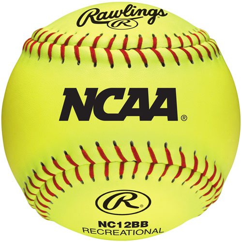 RAWLINGS NC12BB Softball Ball Practice Ball 12in