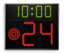 Favero FS-24s-1 24 Second Shot Clock Panels for Basketball