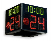 Favero FS-24s-4 24 Second Shot Clock Panels for Basketball