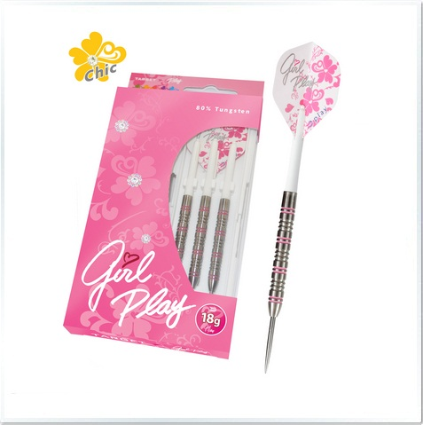 Girl Play Chic 80% Tungsten Steel Tip Darts