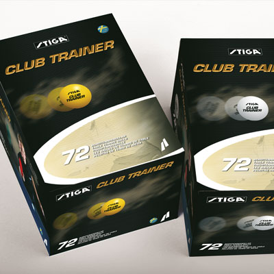 Stiga Club Trainer, 72 balls (Orange)