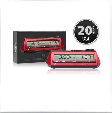 DGT 2010 Limited Edition Digital Chess Clock
