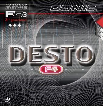 Donic Desto F4 Rubber