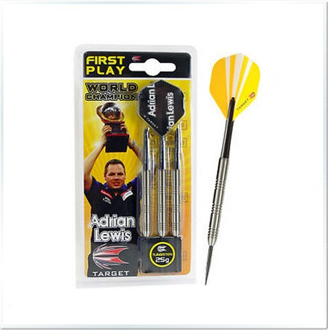 First Play Adrian Lewis 70% Tungsten Steel Tip Darts