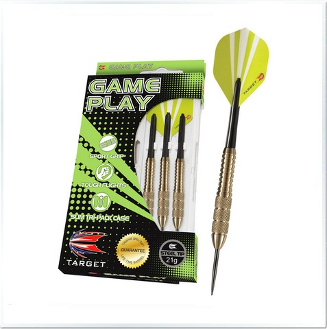 Game Play Chrome Steel Tip Darts