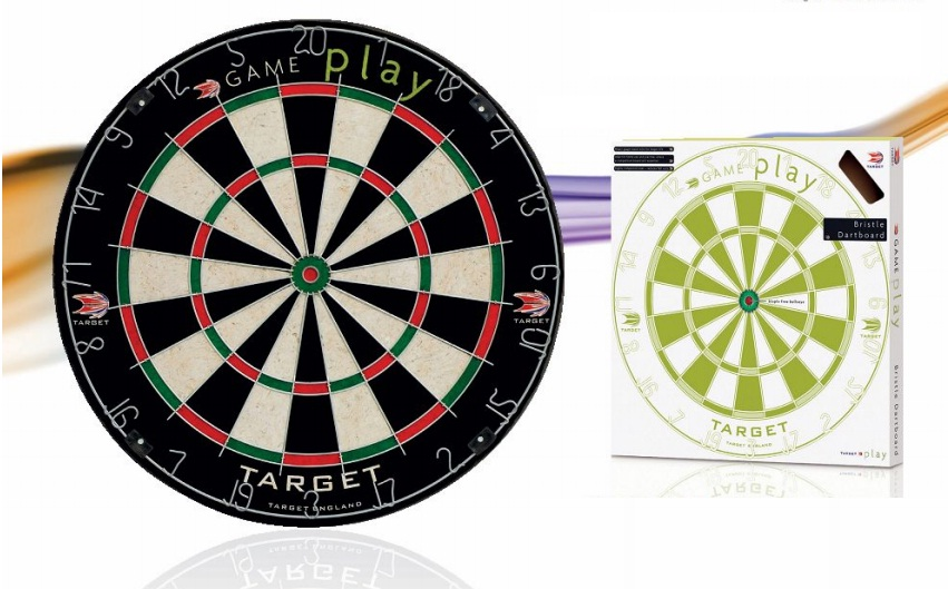 Game Play Bristle Dart Board