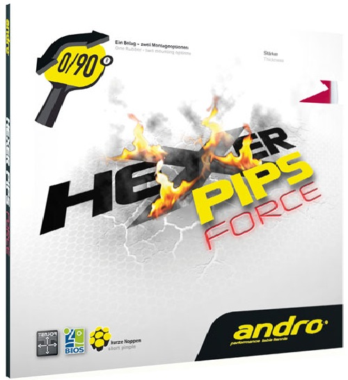 Hexer Pips Force Short Pimple