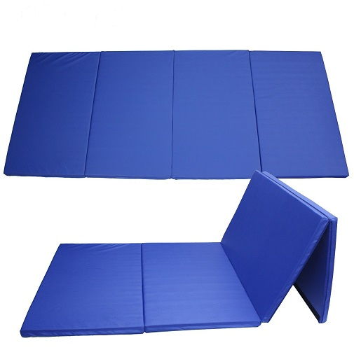 Gymnastic Tumbling Mats 4 Part 4ft x 8ft x 1.4in (3.5cm)