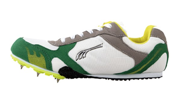 Do-Win Spike Running Shoes P2106C White/Gray/Green