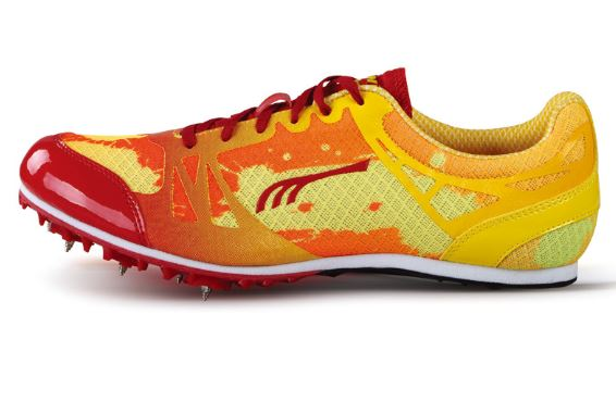 Do-Win Spike Running Shoes PD2507B Red/Yellow