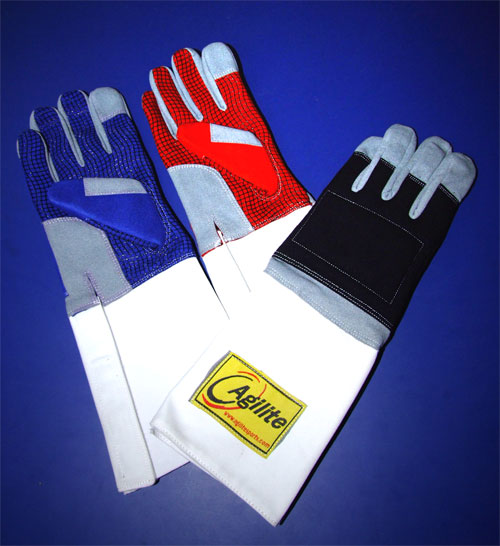 3 Weapon Washable Leather Glove with Grippy Palm