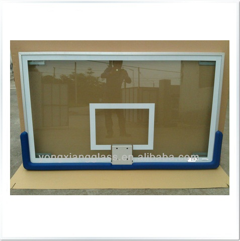 FIBA Level Tempered Glass Back Board 10mm (RING NOT INCLUDED)