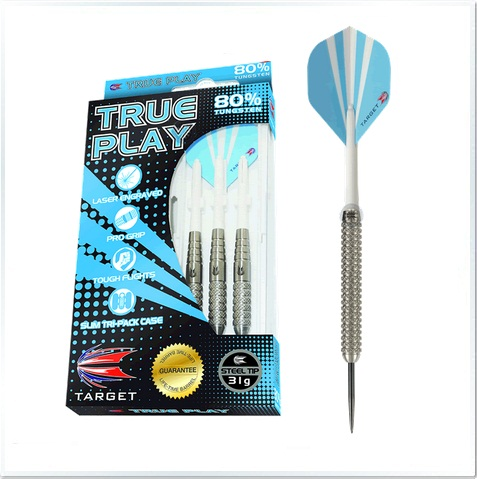 True Play 80% Tungsten Steel Tip Darts