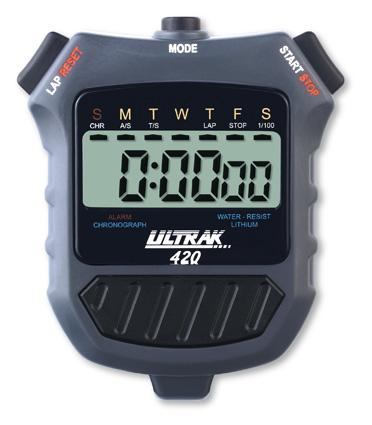 ULTRAK 420 Cumulative Split Stopwatch