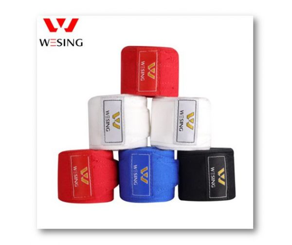 WESING Hand Wrap Cotton 3M Red and Blue