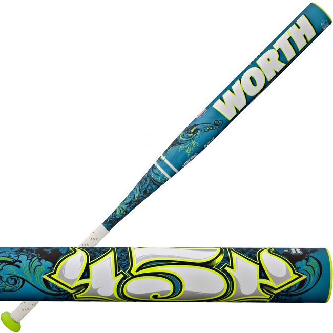 WORTH FPL8 545 Legit Fast Pitch 34/26oz Softball Bat